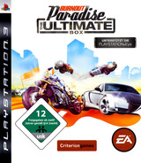 Burnout Paradise: The Ultimate Box PS3 cover (BLES00455)