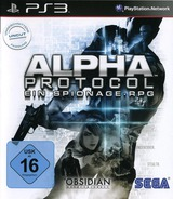 Alpha Protocol PS3 cover (BLES00704)