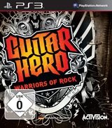 Guitar Hero: Warriors of Rock PS3 cover (BLES00801)