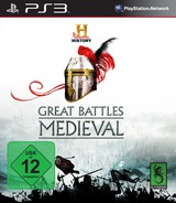 History: Great Battles Medieval PS3 cover (BLES00822)