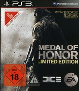Medal of Honor (Limited Edition) PS3 cover (BLES01067)