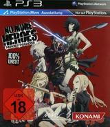 No More Heroes: Heroes' Paradise PS3 cover (BLES01101)