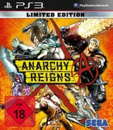 Anarchy Reigns PS3 cover (BLES01232)