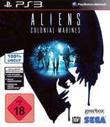 Aliens: Colonial Marines PS3 cover (BLES01455)