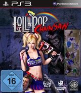Lollipop Chainsaw PS3 cover (BLES01525)