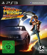 Back to the Future: The Game PS3 cover (BLES01596)