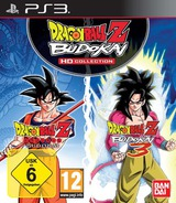 Dragon Ball Z Budokai HD Collection PS3 cover (BLES01658)