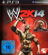 WWE 2K14 PS3 cover (BLES01937)