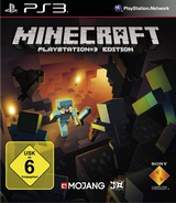 Minecraft: PlayStation 3 Edition PS3 cover (BLES01976)