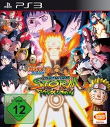 Naruto Shippuden: Ultimate Ninja Storm Revolution PS3 cover (BLES02014)