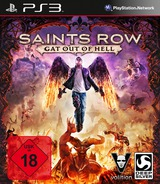 Saints Row: Gat Out of Hell PS3 cover (BLES02095)