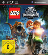 LEGO Jurassic World PS3 cover (BLES02132)