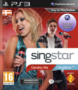 SingStar Danske Hits PS3 cover (BCES01103)