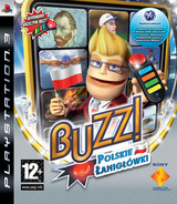 Buzz! Polskie Łanigłówki PS3 cover (BCES00367)