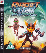 Ratchet & Clank: A Crack in Time PS3 cover (BCES00511)