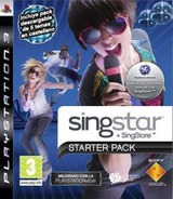 SingStar Starter Pack PS3 cover (BCES00621)