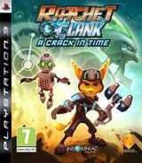 Ratchet & Clank: A Crack in Time PS3 cover (BCES00748)