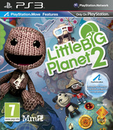 LittleBigPlanet 2 PS3 cover (BCES00850)