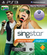 SingStar Afrikaanse Treffers PS3 cover (BCES01083)