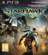StarHawk PS3 cover (BCES01234)
