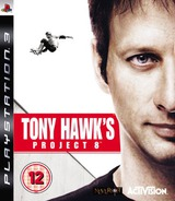 Tony Hawk's Project 8 PS3 cover (BLES00014)