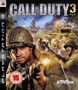 Call of Duty 3 PS3 cover (BLES00021)