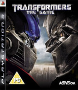 Transformers: The Game PS3 cover (BLES00092)
