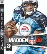 Madden NFL 08 PS3 cover (BLES00102)