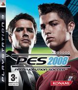 Pro Evolution Soccer 2008 PS3 cover (BLES00111)