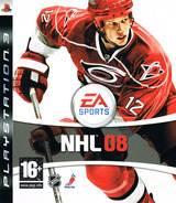 NHL 08 PS3 cover (BLES00118)