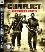 Conflict: Denied Ops PS3 cover (BLES00182)