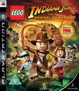 LEGO Indiana Jones: The Original Adventures PS3 cover (BLES00254)
