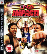 TNA iMPACT! PS3 cover (BLES00300)