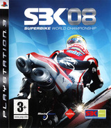 SBK 08 : Superbike World Championship PS3 cover (BLES00368)