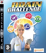 Brain Challenge PS3 cover (BLES00420)