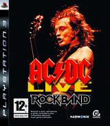 AC/DC Live: Rock Band PS3 cover (BLES00453)