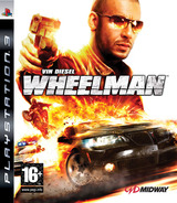 Vin Diesel Wheelman PS3 cover (BLES00557)