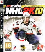NHL 2K10 PS3 cover (BLES00654)