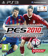 Pro Evolution Soccer 2010 PS3 cover (BLES00689)
