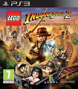 LEGO Indiana Jones 2: The Adventure Continues PS3 cover (BLES00763)