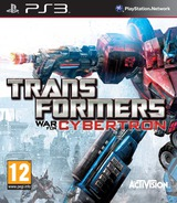 Transformers: War for Cybertron PS3 cover (BLES00833)