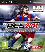 Pro Evolution Soccer 2011 PS3 cover (BLES01021)