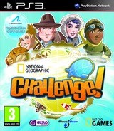 National Geographic Challenge! PS3 cover (BLES01037)