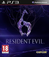 Resident Evil 6 PS3 cover (BLES01465)