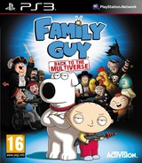Family Guy: Back to the Multiverse PS3 cover (BLES01625)
