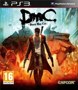 DmC: Devil May Cry PS3 cover (BLES01698)