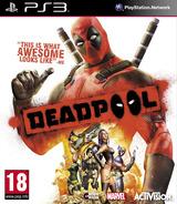 Deadpool PS3 cover (BLES01789)