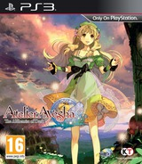 Atelier Ayesha: The Alchemist of Dusk PS3 cover (BLES01793)