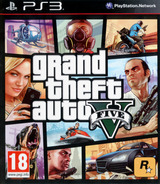 Grand Theft Auto V PS3 cover (BLES01807)