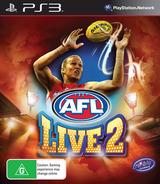 AFL Live 2 PS3 cover (BLES01875)
